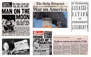 newspaper headline template newspaper headlines