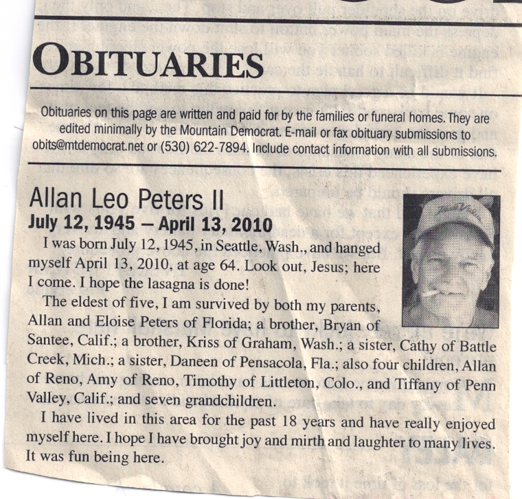 Newspaper obituary template template business for Obituary template word document