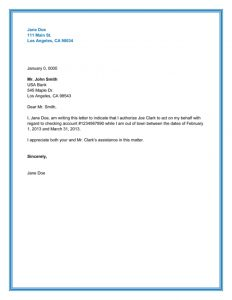 newspaper template for word best authorization letter samples and formats inside authority letter sample