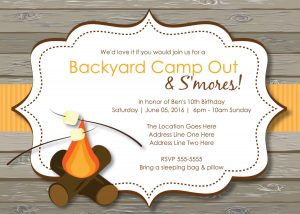 newspaper template for word elegant bonfire birthday party invitations hd image pictures ideas