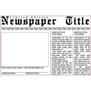 newspaper template free cbbcdfddbfbcbdfee large