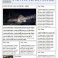 newspaper template free ms word newspaper template