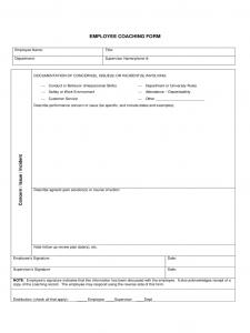 newspaper template pdf employee coaching form kansas d