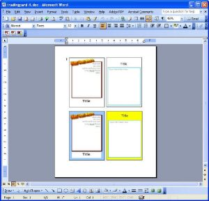 newspaper template pdf trading card reports format