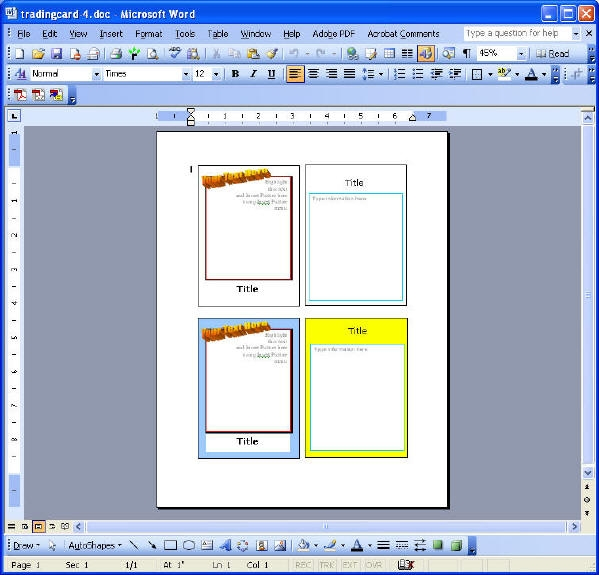 newspaper template pdf