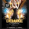 night club flier deluxe nightclub flyer template