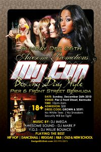 night club flier awesomepromotionsmycupboxingdaystyleflyerbackx