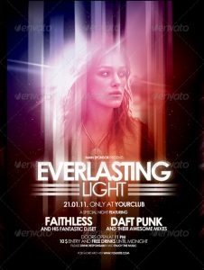 night club flier nightclub flyer poster vol