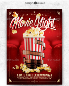 nite club flyers movie dat night flyer template x