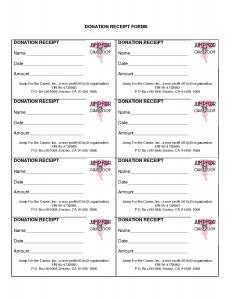non profit donation receipt c donation receipt template