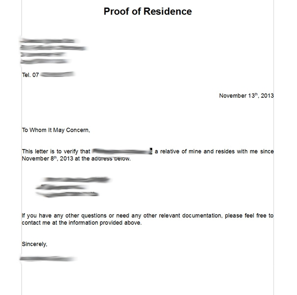 proof of residency letter for tenant template notarized letter of residency template business 27634 | notarized letter of residency how to write a notarized letter for proof of residence best blank notarized letter for proof of residency template pdf format