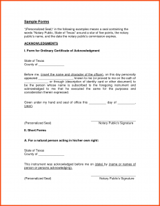 notary letter templates notary signature format florida notary statement letter notary public letter template