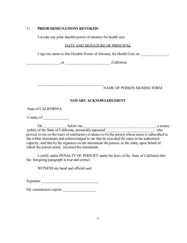 notary signature format