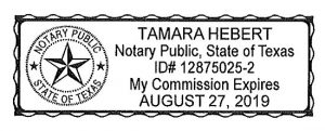 notary signature template new notary template