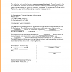 notary statement template notary form template notary public letter template