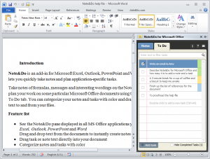 note taking template word note do word pane