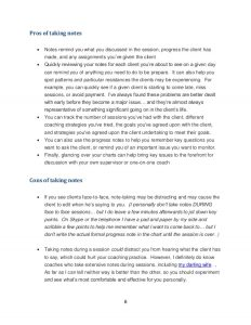 note taking template word note taking for life coaches or business coaches