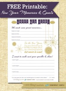 notebook paper printable newyear