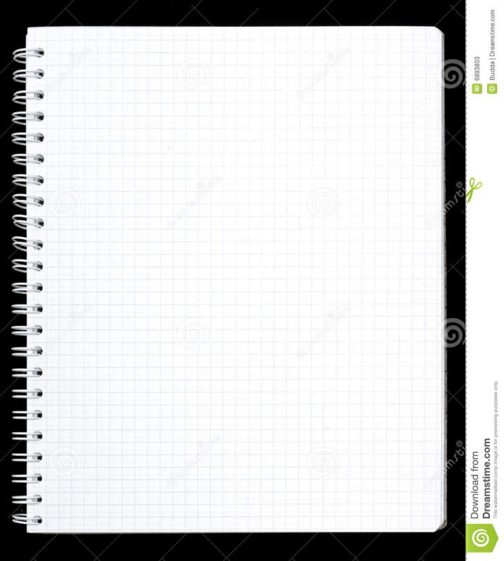 notebook paper printable