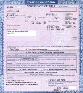 notice of transfer and release of liability form title california
