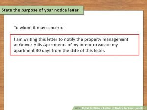 notice to vacate apartment aid v px write a letter of notice to your landlord step version