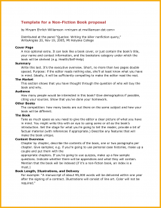 novel outline example book proposal sample book proposal template