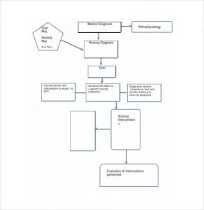 nursing concept mapping template concept care map template word template free download