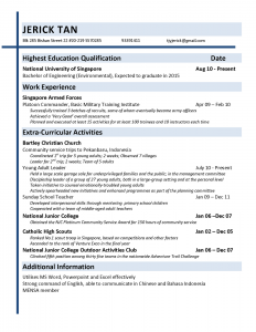 objective in resume for fresh graduate resume assignment with application letter and resume and resume genius