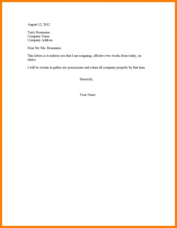 Why Write A Resignation Letter