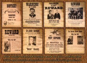 old west wanted posters oldwestposters