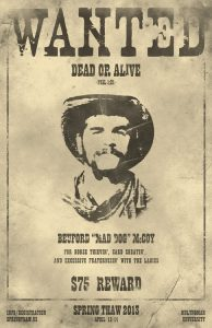 old west wanted posters wanted poster