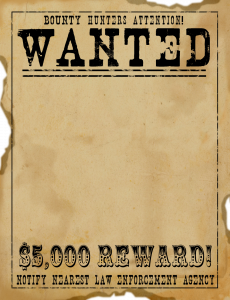old west wanted posters wild west wanted sign template