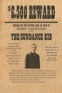 old west wanted posters wwp sundance