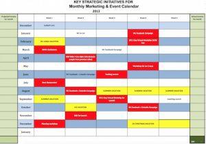 one page marketing plan annualcalendarpix