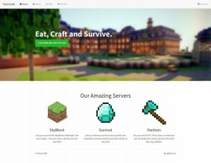 one page website template fbdbbaedbfd