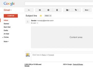 one page website template gmail ui template psd x