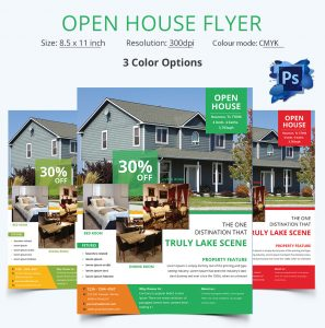 open house flyer template editable open house flyer template