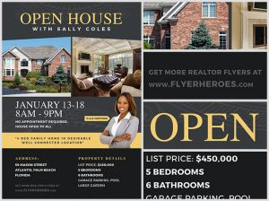 open house flyer template open house flyer template fh