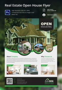 open house flyer template real estate open house flyer template