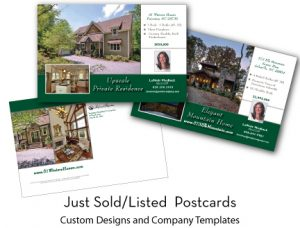 open house flyers real estate postcards
