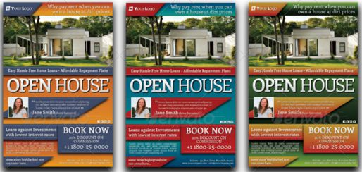 House Flyers Antaexpocoachingco - Business open house flyer template