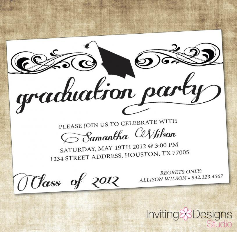 open house invitations templates