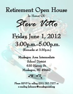 open house invitations templates steve vittos retirement farewell