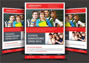 open house invite template school flyer print templates