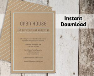 open house invite templates business open house invitation template