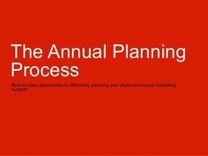 operating budget template the annual planning process socialdigital media