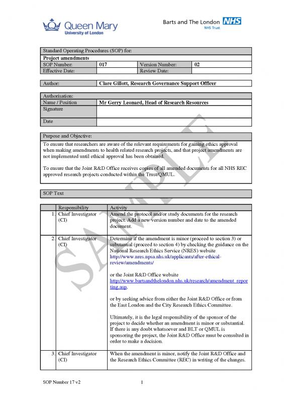 Operating Manual Template  Template Business