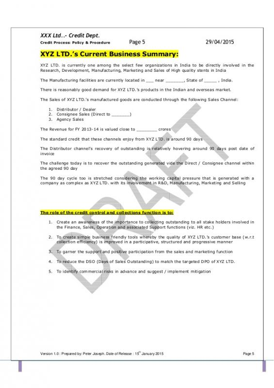 Operating manual template template business for Operational guidelines template
