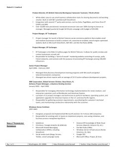 operations manager resume sample robert crawford web resume