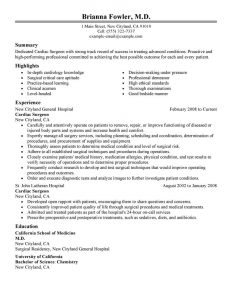 operations manager resume sample surgeon healthcare classic